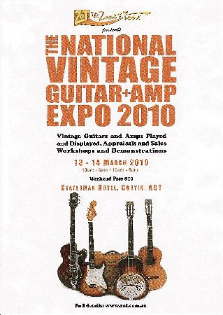 National Vintage Guitar & Amp Expo